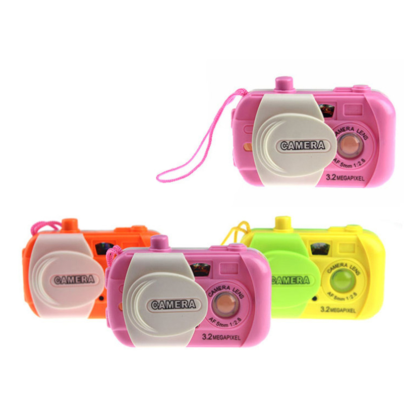 1 piece Mini Children Camera Toys Cute Colorful Toy Camera Kids Digital Cameras Learning Educational Toys for Children Gifts