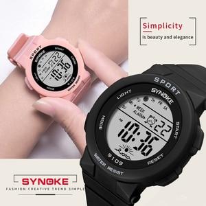 Image 2 - PANARS mode dames montres garçons filles étudiants numérique sport femmes montre 50m étanche montre bracelet alarme Relogio Feminino