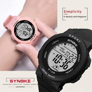Image 2 - PANARS אופנה גבירותיי שעונים בני בנות סטודנטים דיגיטליים ספורט נשים שעון 50m עמיד למים שעוני יד מעורר Relogio Feminino