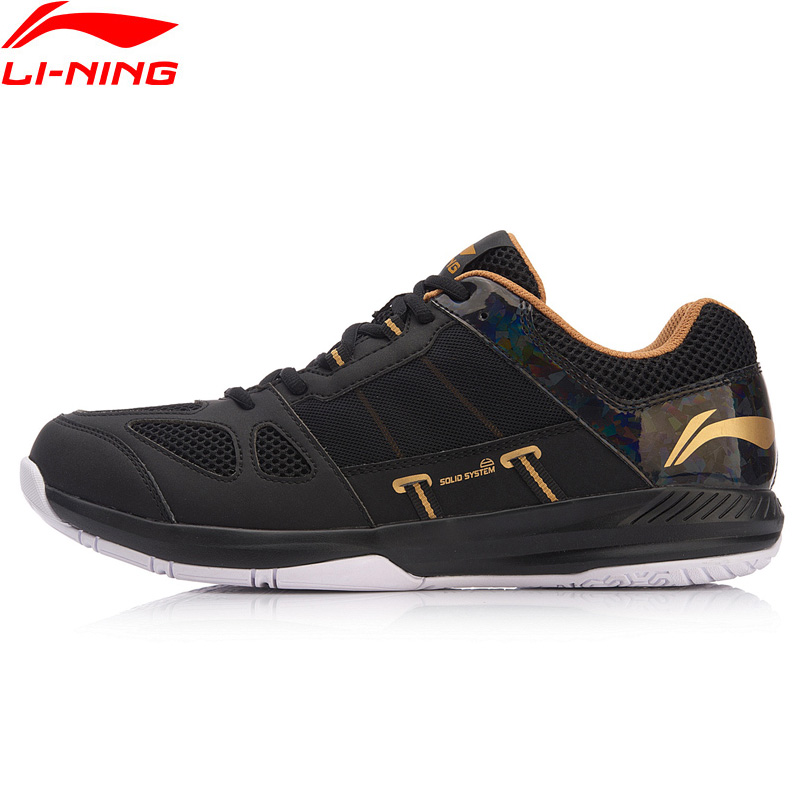 (Clearance)Li-Ning Men's PROTECTOR Badminton Training Shoes Anti-Slippery LiNing Breathable Sport Shoes Sneakers AYTN043 XYY088