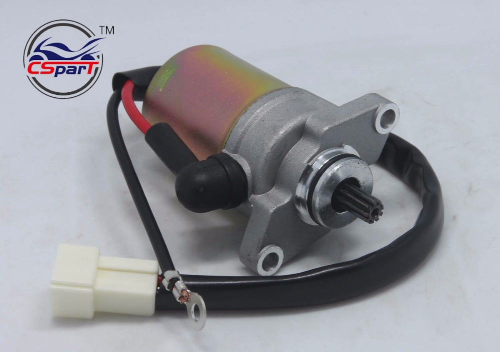 Electric Starter Motor Jog Minarelli Vino 1P52QMG 50CC 90CC 100CC Scooters Moped 2-Stroke ATV Buggy