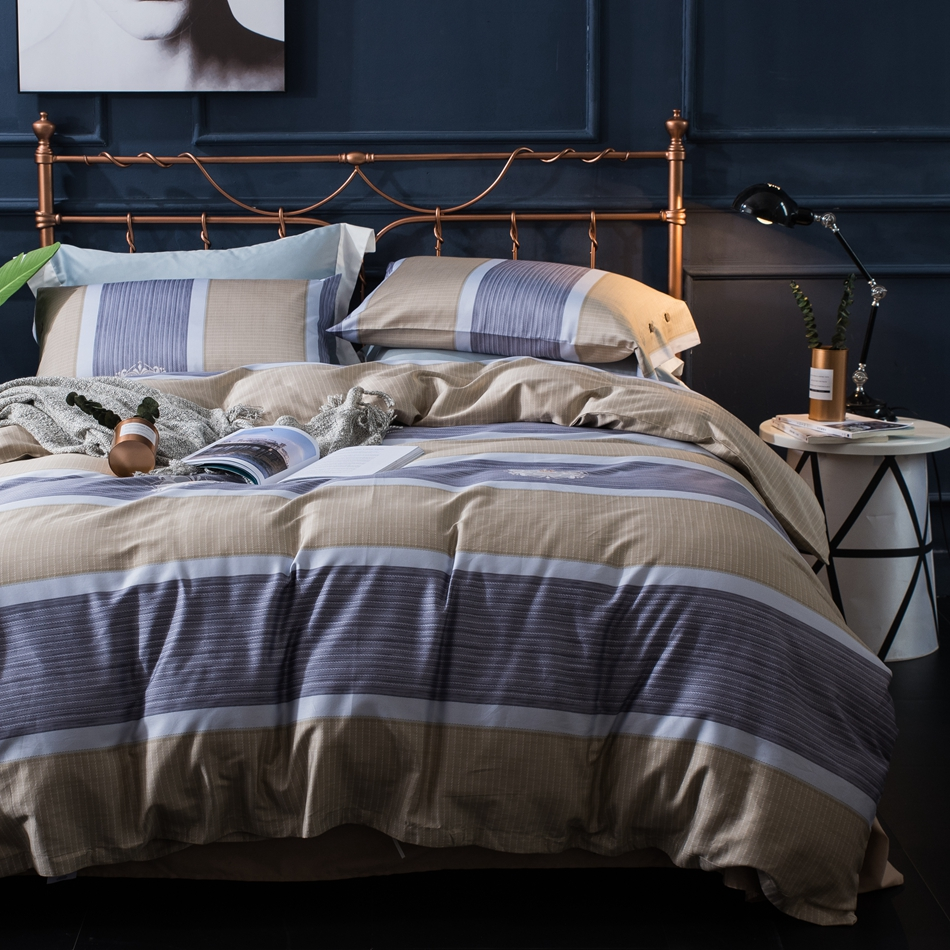 online buy wholesale cool bed sheets from china cool bed sheets  -  egyptian cotton luxury duvet cover set for men cool duvet cover solidcolor brown
