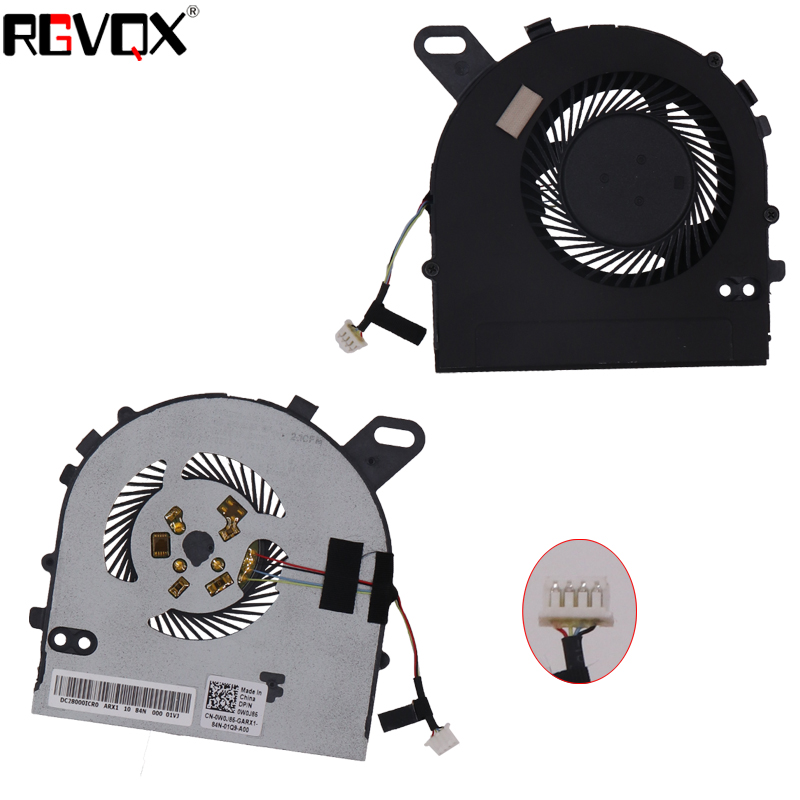 New Laptop Cooling Fan For <font><b>DELL</b></font> Inspiron 15 <font><b>7560</b></font> 15-<font><b>7560</b></font> Vostro 5468 5568 Original PN: DC28000ICR0 CPU Cooler Radiator image