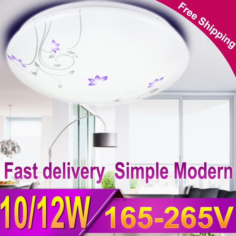 CANMEIJIA Modern Floral Led Ceiling Light Flush Mount Ceiling Lamp Fixture  Lustre Living Room Bathroom Bedroom