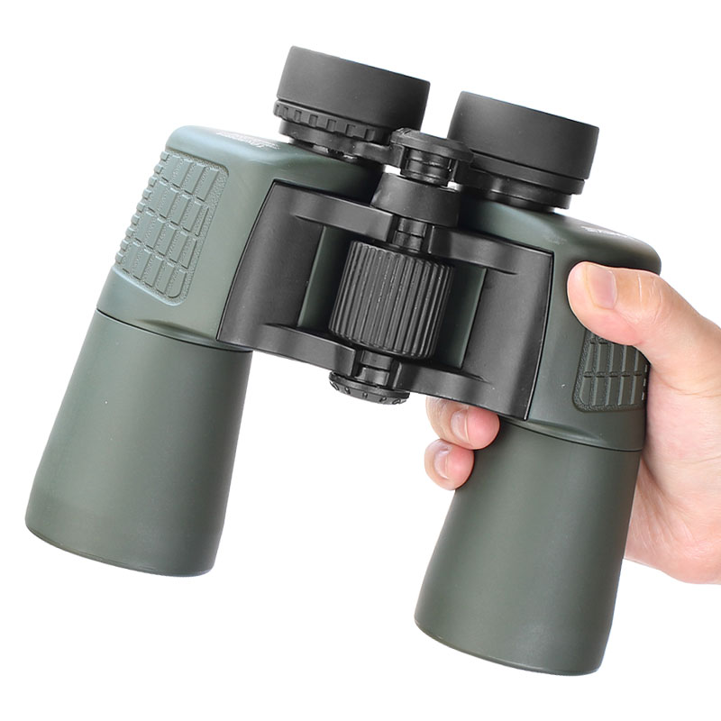 New Cool Design HD 10X50 Military Binoculars Outdoor Birdwatching Hunting Telescope High Power Optical Glass Wide Angle Viewing