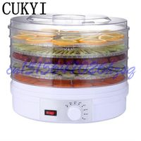 CUKYI 250W Household Mini Drying Fruit Machine Fruits And Vegetables Dehydration Dry Meat Food Machine Snacks