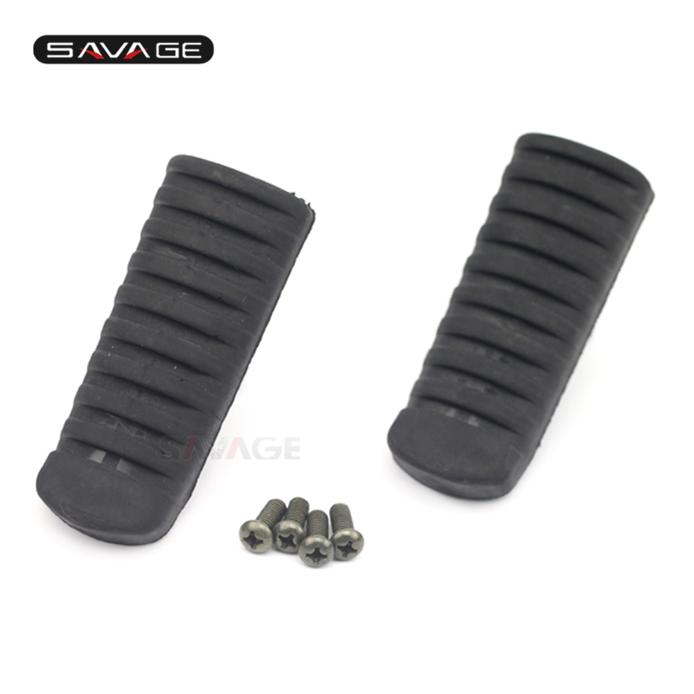Rubber Motorcycle Footpeg Foot Pegs Rest Stand Footrest For Minitrail Mini Trail Z50 Z50a Monkey Bike Free Shipping Frames & Fittings