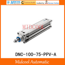 DNC-100-75-PPV-A Pneumatic Cylinder DNC series Standard Cylinder Double Acting FESTO Type
