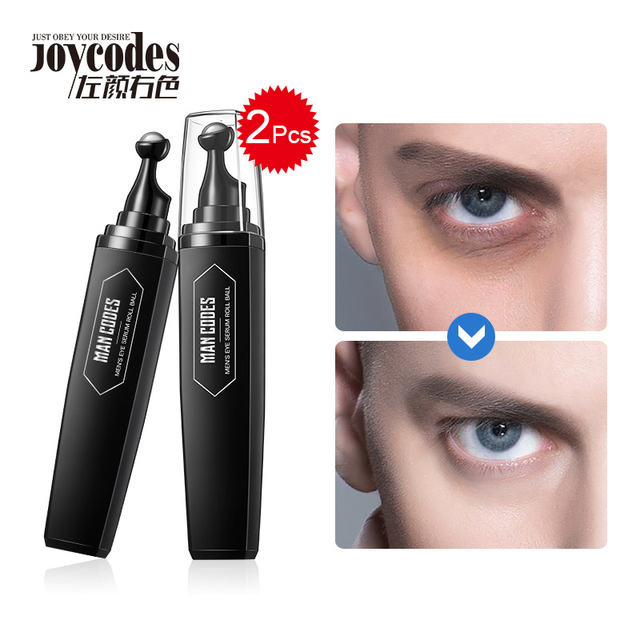 MANCODES 2/ADET Erkek Kırışıklık Karşıtı Göz Kremi Anti-şişlik Koyu Daire Gözler Krem Sıkılaştırıcı Hyaluronik Top Göz cilt Kolaj Serum