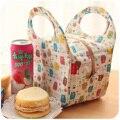 Poliéster bolsa de almuerzo térmica impermeable Lindo de la venta caliente bolsa de picnic para niños de las mujeres Envío gratis