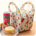 Waterproof polyester thermal lunch bag Cute hot sale picnic bag for women kids Free shipping
