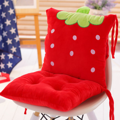 Cartoon Chair Cushion For Office Chair Sofa,Seat Cushions Kitchen Chairs,Embroidered Cushion Pads,Car Seat Cushion And Pillow