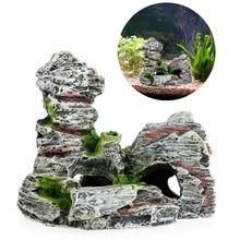 Aquarium Decor Resin Cave