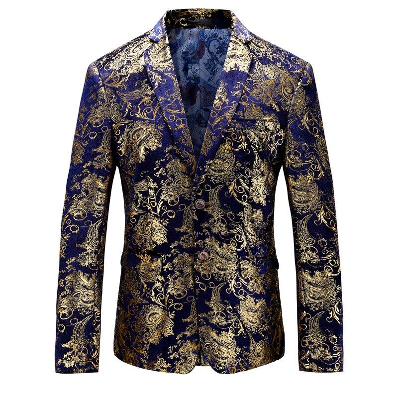 Bleu Homme Lan Manteaux Jin Qualité Élégant S Costume 2019 Et Or Jin Rouge Taille lan Jin Blazer tu Blazers 5xl Hao Jin Di Hommes Pour hong Supérieure Veste Asie Noble mwn0NO8yv
