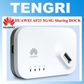 Abierto original de huawei af23 300 m lte 4g 3g sharing muelle usb wifi router inalámbrico ap repetidor con wan/puerto lan de banda ancha