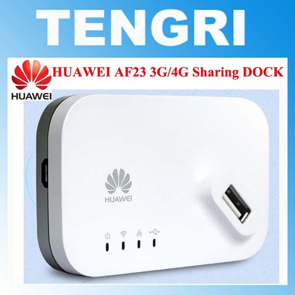 US $85 45 |Original unlocked Huawei AF23 300M LTE 4G LTE/3G USB Sharing  Dock WiFi Wireless Router AP Repeater With WAN/LAN Port Broadband-in  Wireless