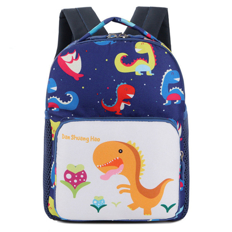 d7ba3c9fbc4d New Kids Backpacks Cute Cartoon Dinosaur Printed School Bags for Kindergarten  Girls Boys Children Anti-lost Bags Nursery Bag