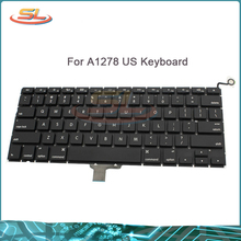 "Wholesale New Laptop US Keyboard For Macbook Pro 13"" A1278 Keyboard US Keyboard Replacement 2008-2009/2010-2012 Year"
