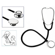 Free Shipping Portable Dual Head EMT Clinical Stethoscope Medical Auscultation Device Estetoscopio Littmann Fonendoscopio  EC031