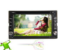 """Android Double 2Din 6.2""""Car Stereo built-in Bluetooth GPS Navigation HD Capacitive Touch Screen Car CD/DVD Player+Wifi No-TV vw"""