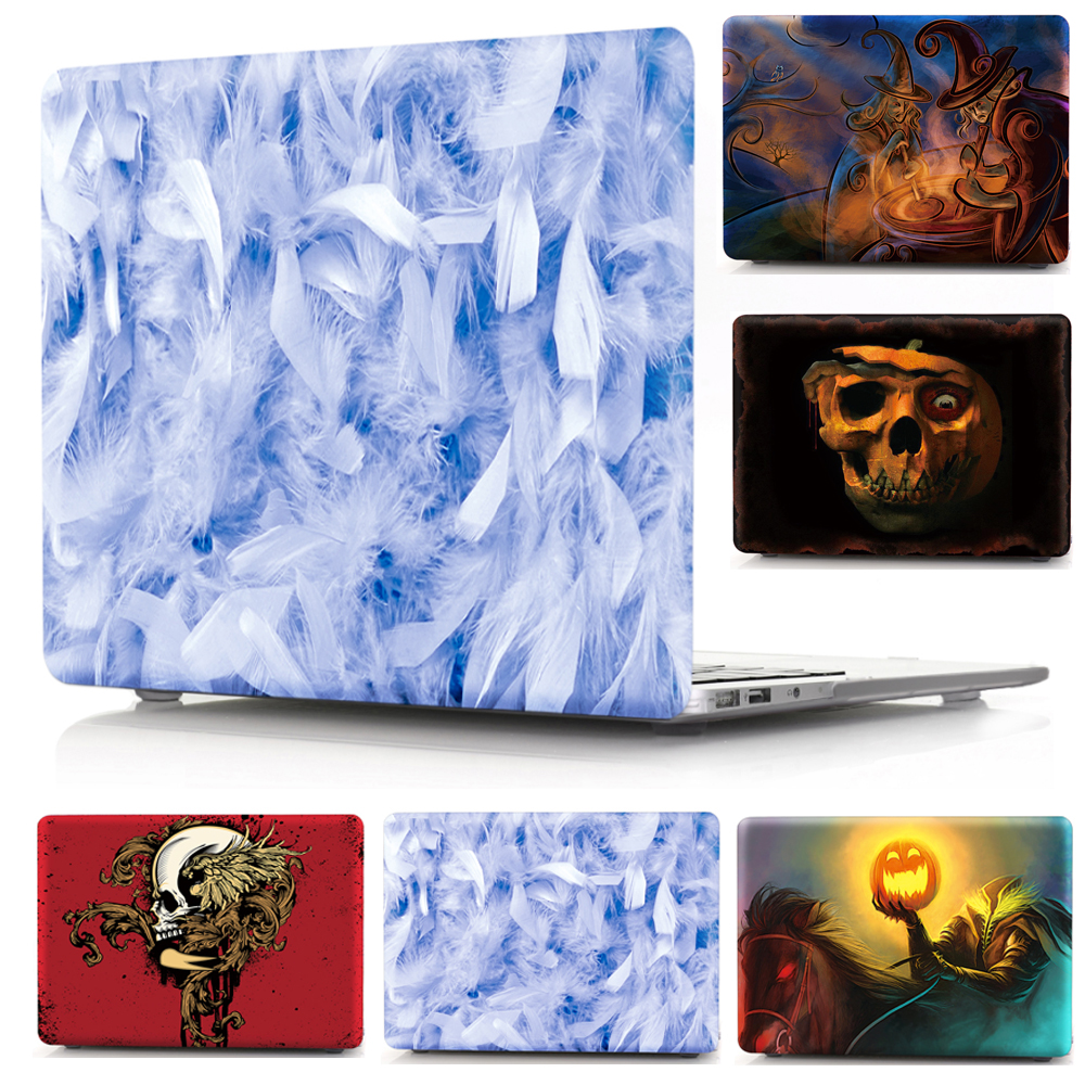 Print Laptop Case For MacBook Air Pro Retina 11 12 13 15 Cover Shell for Mac Air Pro 13.3 15.4 Touch Bar