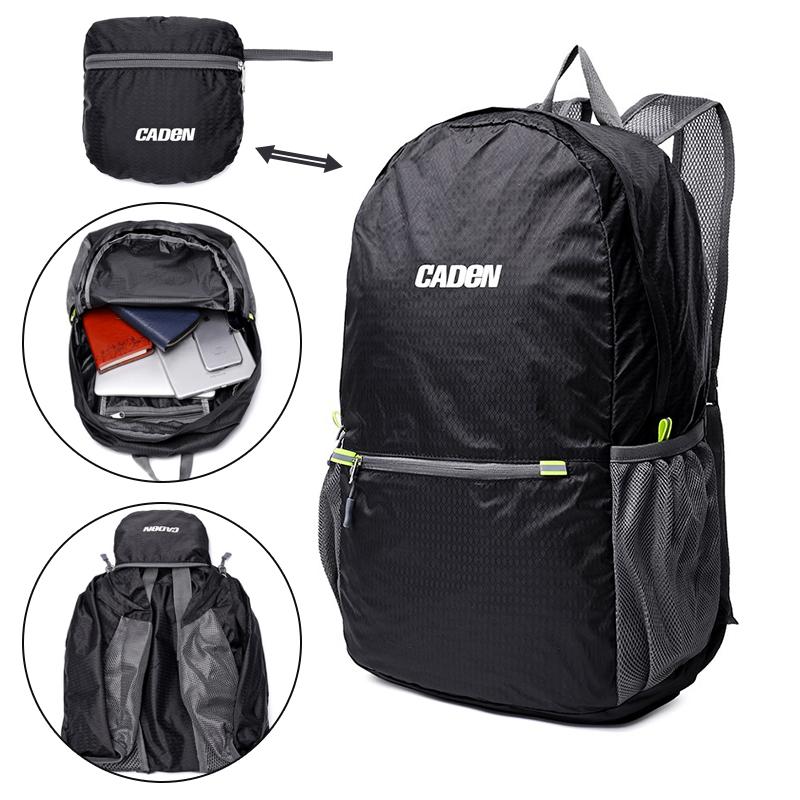cca6ce1416 Ultra Lightweight Packable Backpack Outdoor travel camping Folding bag  Hiking bag Men Women portable Backpacking camera bag