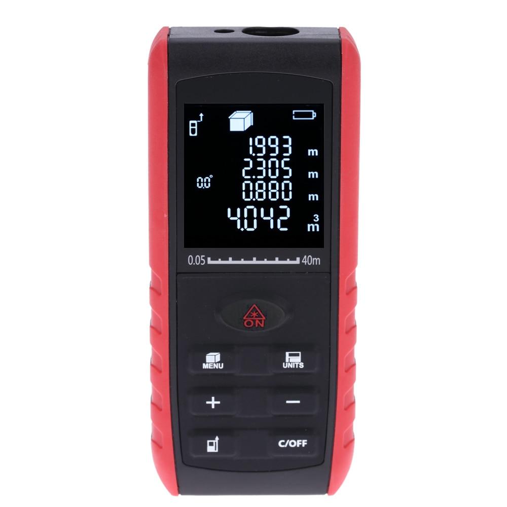 KKMOON 40/60/80/100m Laser Rangefinder distance meter Digital Handheld Display Laser Range Finder distance meter tape measure