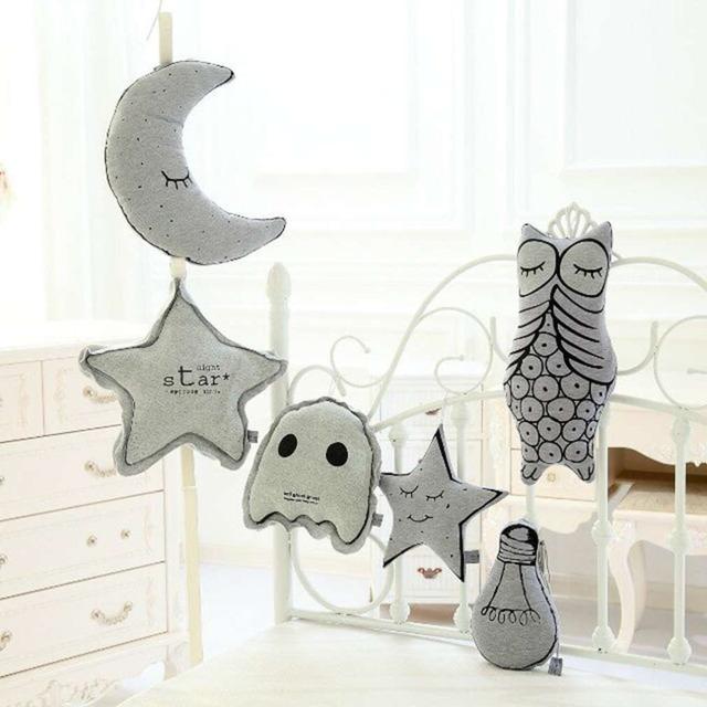 Novo Design Criativo Do Bebê Dos Miúdos Das Crianças Engraçado Travesseiro Luminosa Quarto Macio Stuffed Boneca Brinquedos para As Crianças Presentes Perfeitos