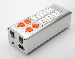 Image 4 - 2020 AUDIOWALLE TP1000 yeni güç arıtma güç filtresi ses fişi LED voltaj göstergesi