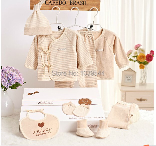 Organic cotton Baby clothes Newborn gift box Infants with ...