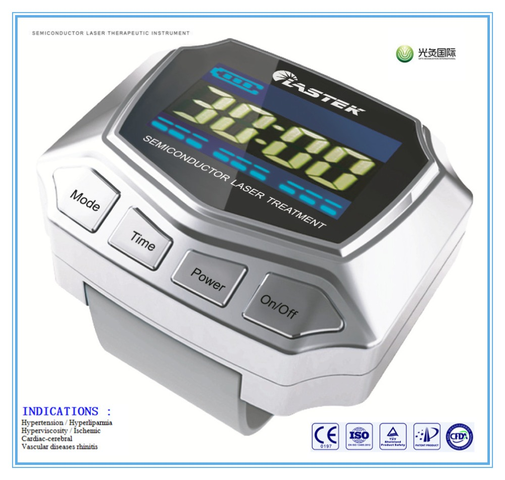 Acupuncture Treat Diabetes Wrist Laser Watch healthcare gynecological multifunction treat for cervical erosion private health women laser device