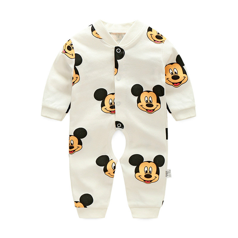 Newborn Baby Clothes Babyworks One Pieces Baby Romper Infant Boys Girls Long Sleeve Jumpsuits Clothing Baby Rompers 0-24M baby climb clothing newborn boys girls warm romper spring autumn winter baby cotton knit jumpsuits 0 18m long sleeves rompers
