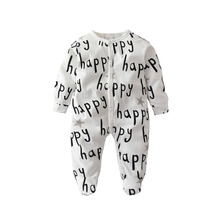 Happy Printed Cotton Newborn Baby Romper