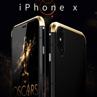 For Apple Iphone X Case Ultra Thin 8X Luxury Armor Phone Protective Shell Coque For Iphone
