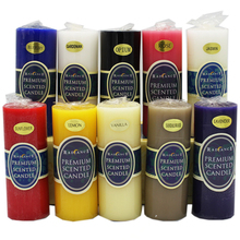 Classic European cylindrical smokeless scented candle wedding decoration  Aromatherapy candle wax fragrance Yoga candle aroma candle soy wax colorful aromatherapy ice cream jelly candle cup decoration