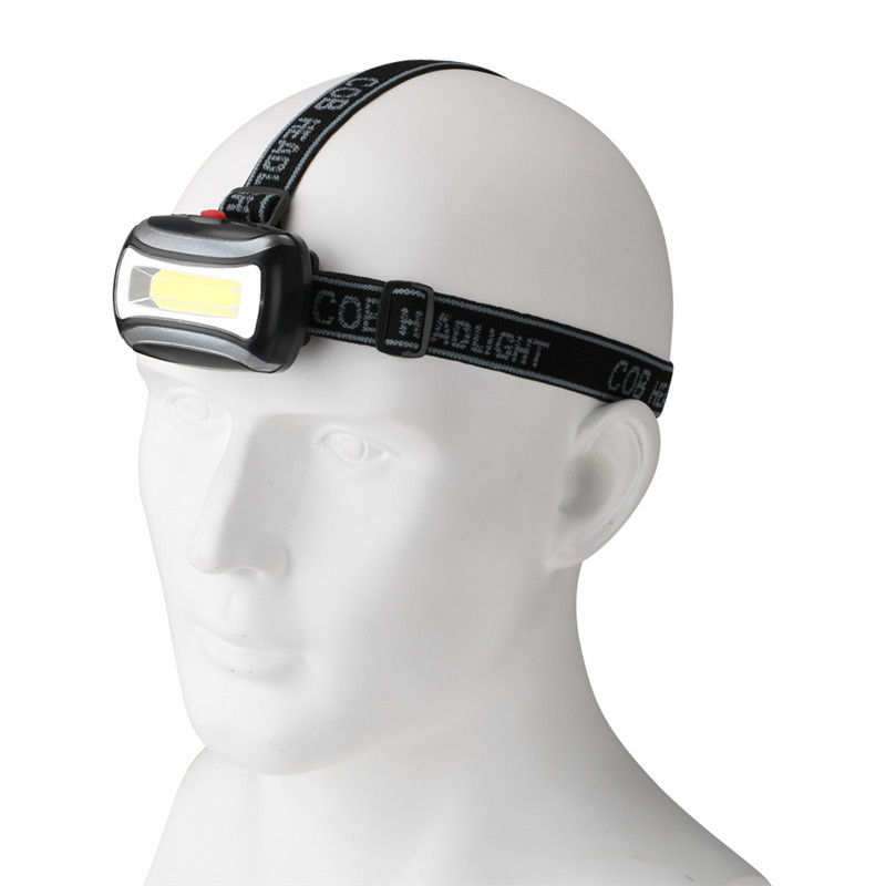 Yunmai 2019 New Portable Mini Flashlight Head 3 Modes By 3* Aaa Battery Headlight Headlamp Led 3800 Lumen Camping Light Torch