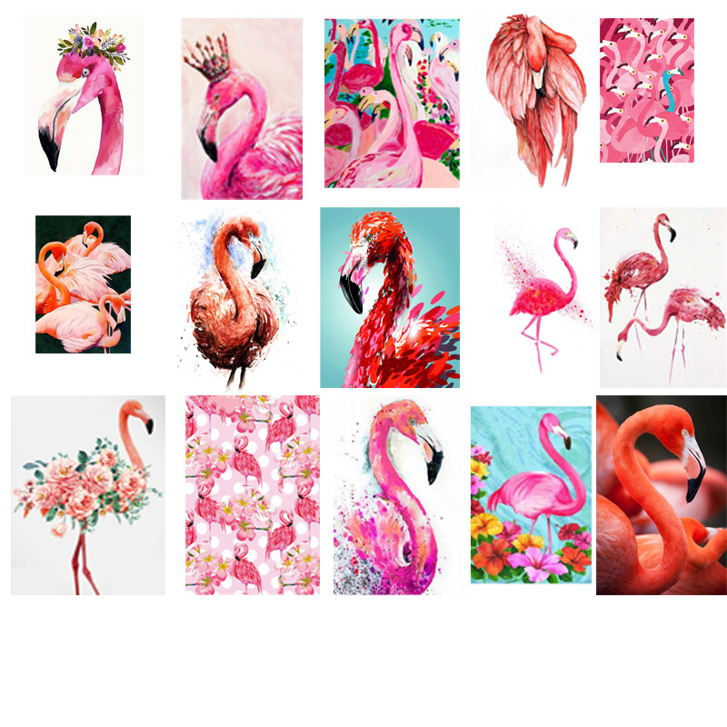 Animal 5D DIY Diamond Painting Flamingos Diamond Embroidery Cross Stitch Kits Floral Needlework Mosaic Full Rhinestone ChristmasAnimal 5D DIY Diamond Painting Flamingos Diamond Embroidery Cross Stitch Kits Floral Needlework Mosaic Full Rhinestone Christmas