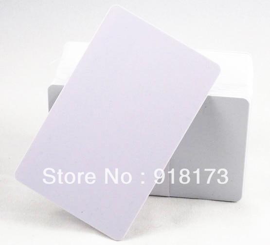 200pcs/lot TK4100 4102 /EM 4100 blank card Thin pvc ID Card RFID 125KHz Smart Card Chips 200pcs lot customable 8 4mm mag stripe 2 track pvc smart card