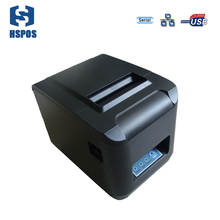 Hot sale USB+Serial+Lan interface 80mm thermal receipt printer with auto cutter Quality impressora ESC/POS ticket printer