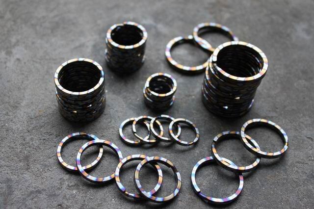 Multicolor титан қорытпасы EDC Ultra жеңіл - Кемпинг және жаяу жүру - фото 4