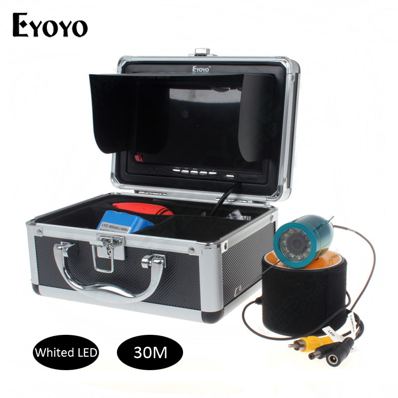 Updated Eyoyo Original 30m Fish Finder Underwater font b Fishing b font Video Camera 7 Color