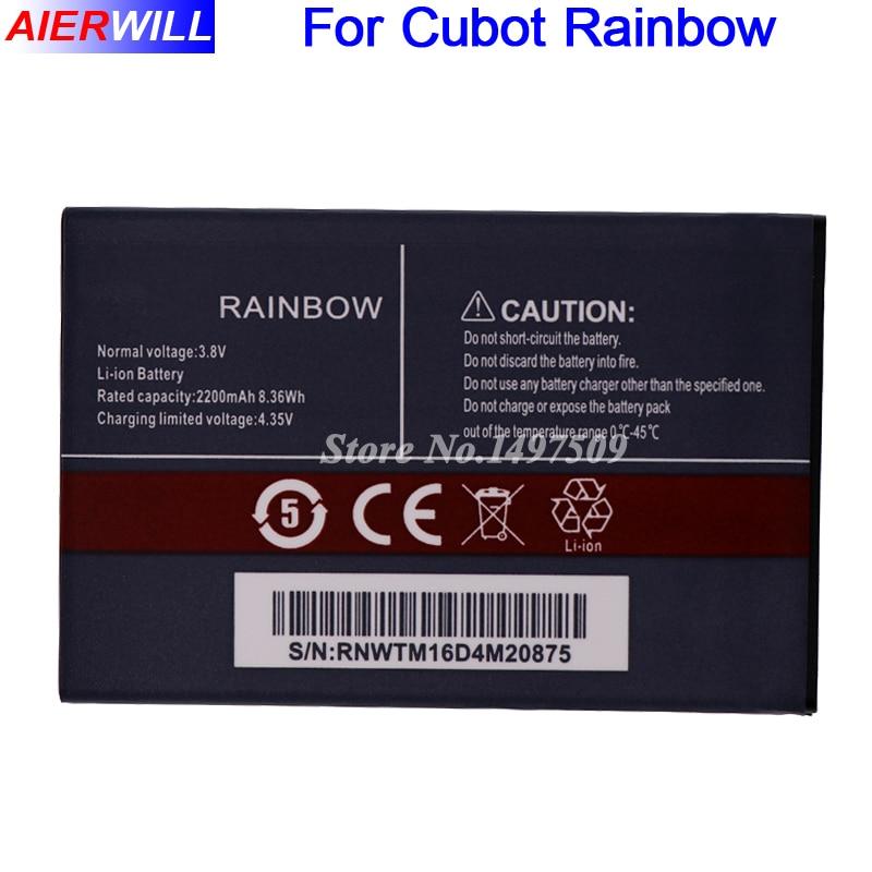 For Cubot Rainbow Battery Batterie Bateria Batterij Accumulator 2200mAh
