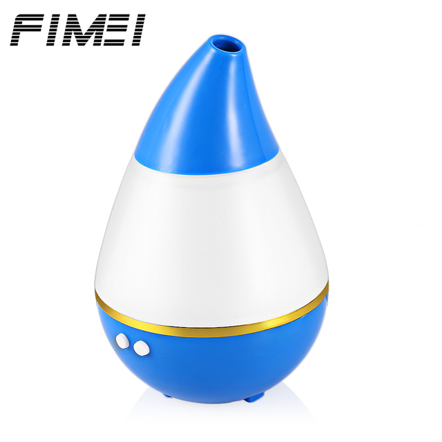 FIMEI 200ml LED Light Ultrasonic Air Humidifier Household Air Conditioning Appliances Diffuser Purifier Atomizer With USB Power