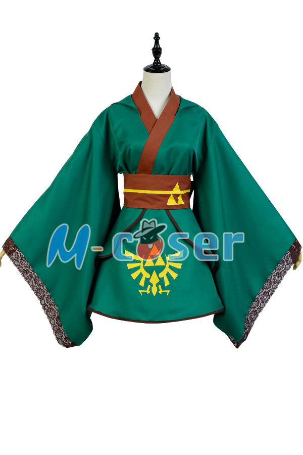 The Legend of Zelda Female Link COSplay Costume Outfit Suit Girl Version Dress For Women full set costume