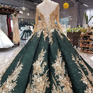 Image 2 - AIJINGYU Spanish Wedding Dress Gowns engagement Turkish Sexy Plus Size 26 Short Bridal Gown Design Dresses To Wear To A Wedding