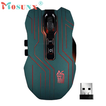 Optical 2.4G USB Wireless Gaming Mouse Top Quality New Hot 9D 3200DPI 8 Buttons Mice For DotA FPS Laptop PC Gamer Rato 17July10