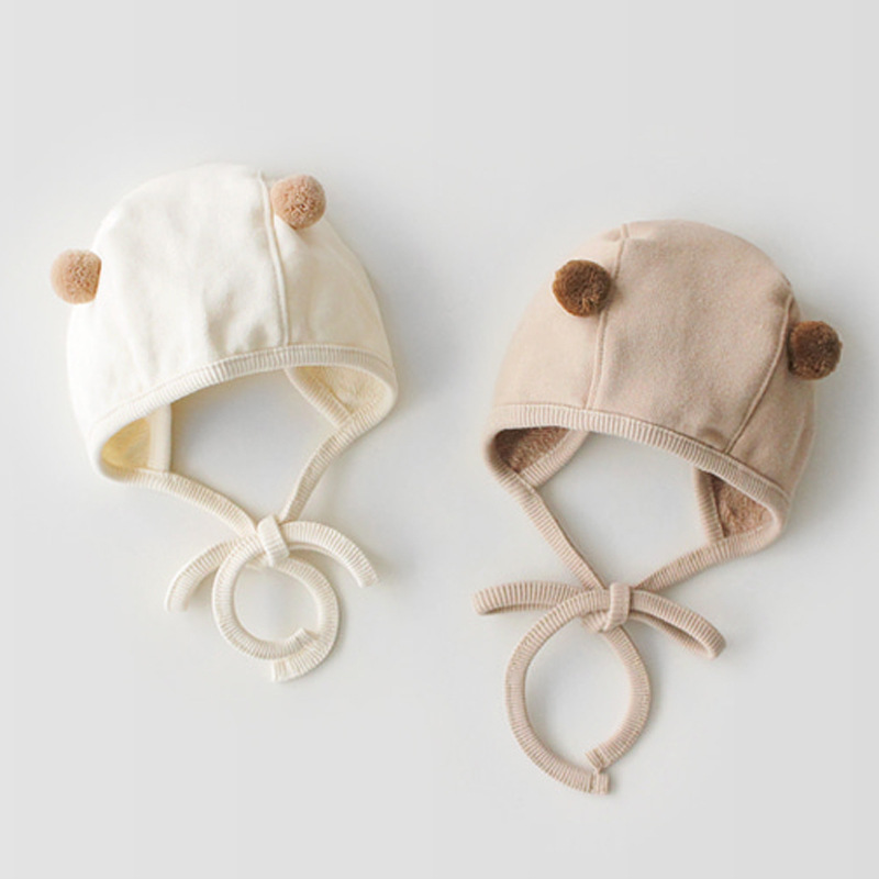 Image 3 - Odzież niemowlęca zestaw wiosna jesień dziecięcy pajacyk bawełniany + kapelusz dla dzieci dwa kawałki garnitury dla niemowląt odzież garniturKombinezonyMatka i dzieci -