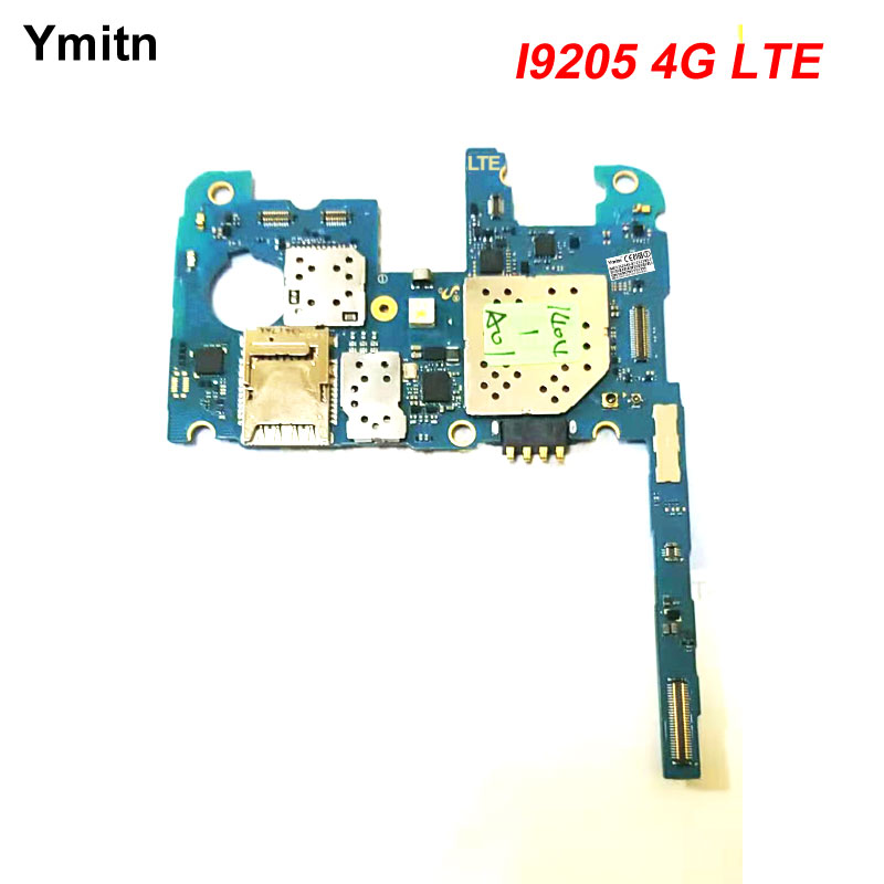 Ymitn Unlocked Work Well With Chips Firmware Mainboard For Samsung Galaxy Mega 6.3 i9205 4G LTE Motherboard Logic BoardYmitn Unlocked Work Well With Chips Firmware Mainboard For Samsung Galaxy Mega 6.3 i9205 4G LTE Motherboard Logic Board
