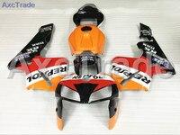 Motorcycle Fairings Kits For CBR600RR CBR600 CBR 600 RR 2005 2006 F5 ABS Plastic Injection Fairing Kit Bodywork Yellow Red