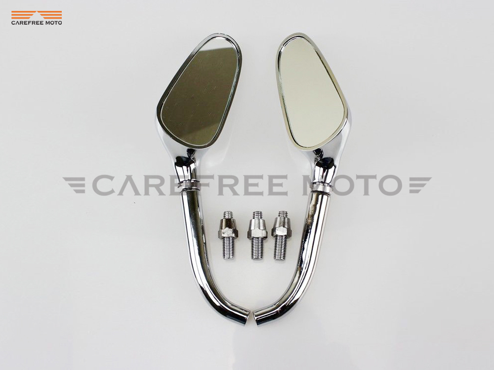 Chrome Motorcycle Mirror Moto Rearview Mirrors Case for Harley Dyna Softail Sportster Touring XL883 XL1200 XL 883 1200